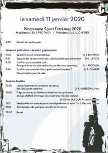 Congrès de Médecine et Traumatologie des Sports Extrèmes 2020